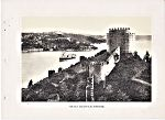 Constantinople Chateau d Europe au Bosphore 1920